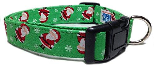 Green Santa Design Collar