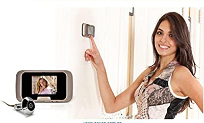 Luxsure Ultra-thin 2.8 Inch LCD Visual Door Peephole Peep Hole Viewer Camera Video Doorbell