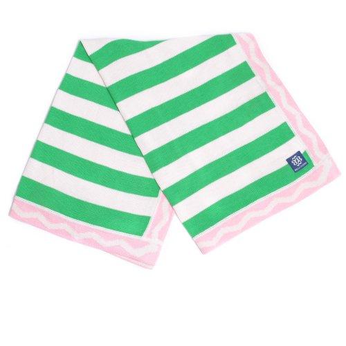 Bella Tunno Stroller Blanket, Prep Talk Pink (Discontinued by Manufacturer)