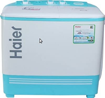 Haier XPB62-187Q Semi-automatic Top-loading Washing Machine (6.2 Kg, Aqua Blue)