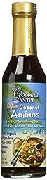 Coconut Secret Organic Raw Coconut Aminos Soy-Free Seasoning Sauce - 8 oz - 3 pk