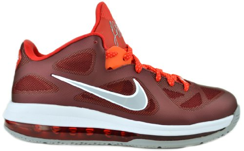 newest c5930 c45a2 Nike Lebron 9 Low Mens Basketball Shoes Team Red Challenge Red, Wolf Grey  510811-600