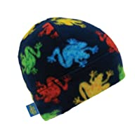 Turtle Fur Kids - Beanie, Playful Prints Fleece Beanie Hat