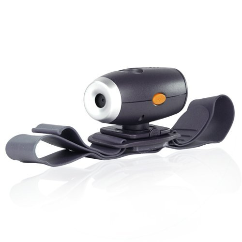 Gsi Super Quality High-Definition Helmet Action Audio/Video Dvr Camera/Camcorder - Usb Interface, Internal Microphone - Helmet Strap And 4 Gb Memory Card Included, For Biking, Cycling, Racing, Skiing Etc.