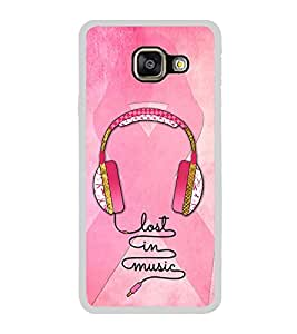 Head Phones 2D Hard Polycarbonate Designer Back Case Cover for Samsung Galaxy A7 (2016) :: Samsung Galaxy A7 2016 Duos :: Samsung Galaxy A7 2016 A710F A710M A710FD A7100 A710Y :: Samsung Galaxy A7 A710 2016 Edition