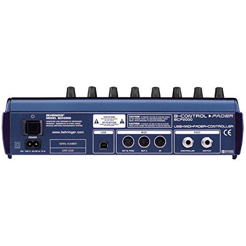 Behringer BCF2000 Control Fader mit 8 Motor-Fadern - 5