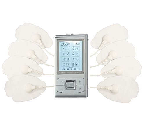 Lifetime Warranty, FDA cleared HealthmateForever TENS unit handheld body