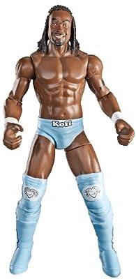 Wwe Flexforce Swing Kickin Kofi Kingston Action Figure by Mattel