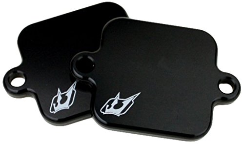 Driven Racing (DSBlock 2) Black Exhaust Smog Block-Off Plate (Yamaha Fz6r Exhaust System compare prices)