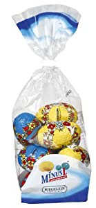 Minus L Lactose free Easter Eggs (hollow) bag of 96g (3.3 Oz)