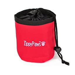 ZippyPaws Treat Bag - Red