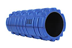 Iso Solid Fitness Trigger Point Therapy Yoga Gym Physio Injury Foam Roller High Quality( Blue)