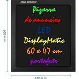 Cablematic - DisplayMatic LED Slate 60 x 47 cm Portafoto