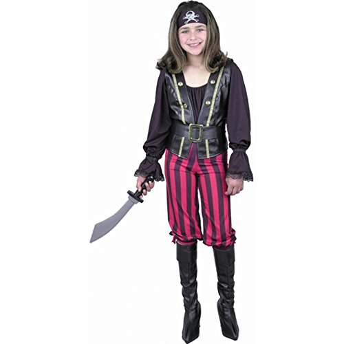 Pirate Queen Child Costume - Child Large 10-12