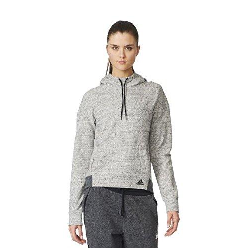 adidas Damen Mélange Pullover Hoodie Kapuzenpullover