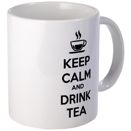 Cafepress Keep Calm And Drink Tea Mug - Standard Multi-Color