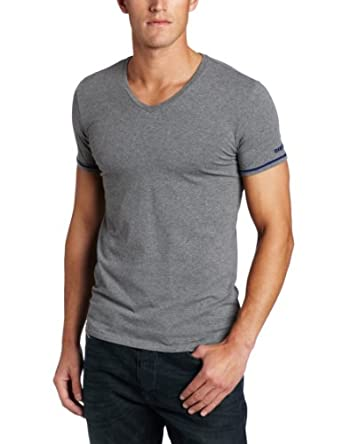 迪赛 Diesel Men's Michael T 男士修身短袖T恤 Red $26.6
