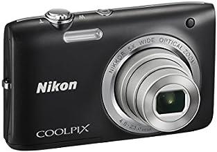Nikon Coolpix S2800 Sottile Fotocamera Digitale Compatta, 20 Megapixel, Zoom 5X, Filmati HD, Colore Nero [Nital card: 4 anni di garanzia]