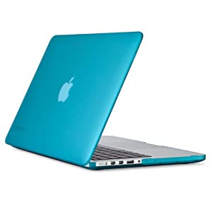 Speck SeeThru Satin Hard Shell Case Cover for 13 inch MacBook Pro with Retina Display - Peacock Blue