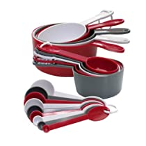 Progressive GT-3520 International 19-Piece Measuring Cup and Spoon Set