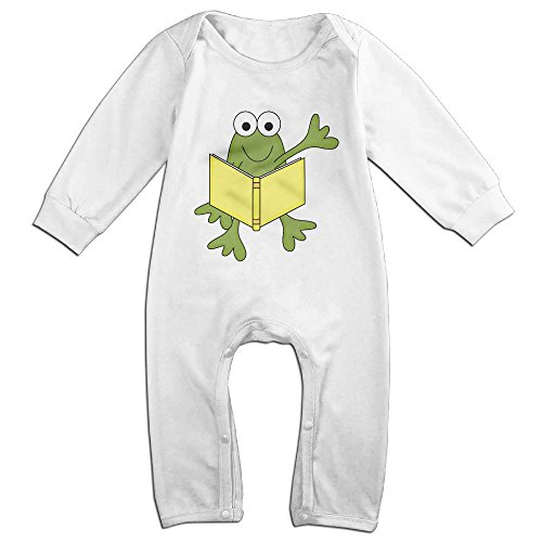 Posit-Babys-Frog-3-Boys-Girls-Kids-Creeper-Romper-Bodysuits-Jumpsuits-Size-US-White