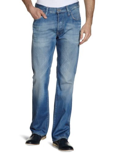 G Star 3301 Loose Men's Jeans Medium Aged W32INxL34IN