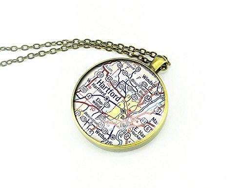 connecticut-1958-vintage-hartford-map-map-per-regalo-di-natale-rame-colore-oro-cod-m0515cp-bb
