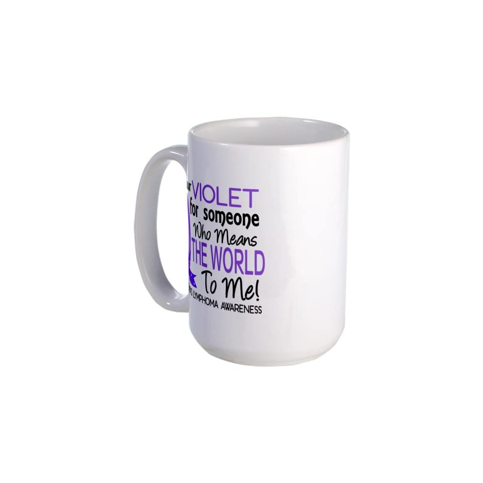 Means World To Me 1 Hodgkins Lymphoma Shirts Larg   Coffee Mug, Large 15 oz. White Coffee Cup