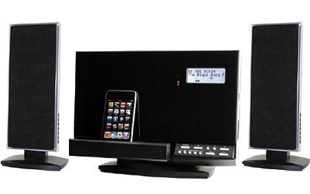 Soundmaster DISC180 Ensemble Hi-Fi Lecteur CD-MP3 / Radio PLL / Port USB / Lecteur de cartes SD / Station d'accueil pour iPod (Import Allemagne)