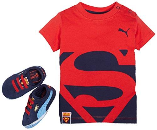PumaCrib-pack-Suede-Superman-2-patucos-y-zapatillas-de-estar-por-casa-Beb-Nios