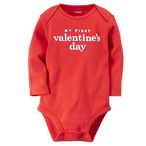 baby valentine bodysuit
