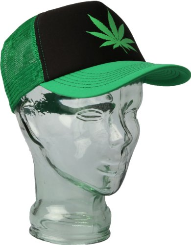 Pot Leaf Trucker Cap