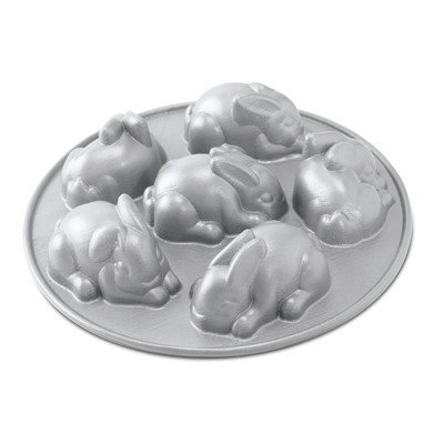 Nordic Ware Baby Bunny Cakes Pan (Rabbit Cake Pan compare prices)