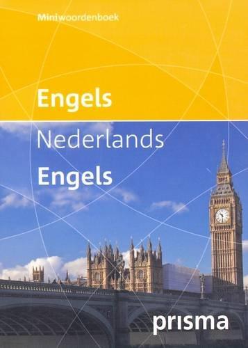 Prisma Mini Dictionary English Dutch and Dutch English English and Dutch Edition