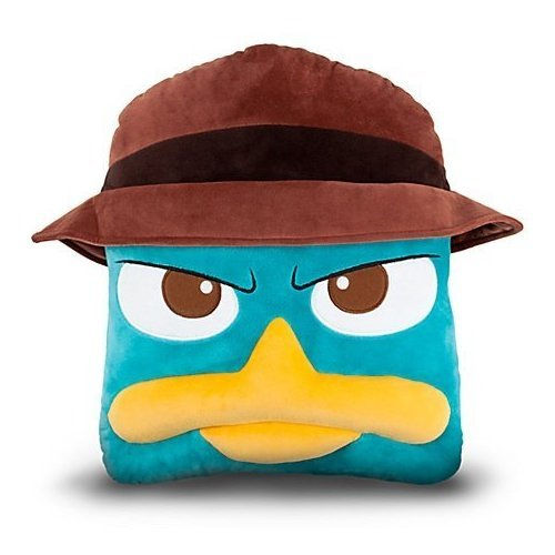 Agent P Plush Pillow - 1