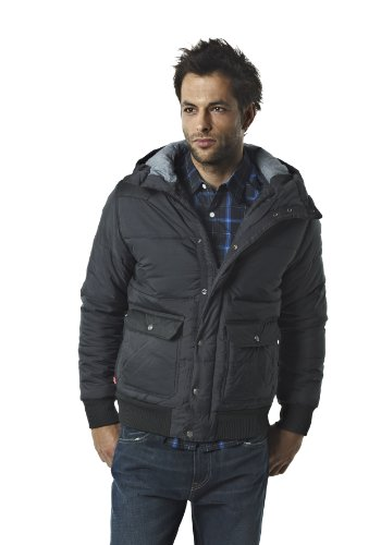 Levi's Men's Levi's Puffa Jacket 72069 Jacket Black (Jet Black 0001) 56
