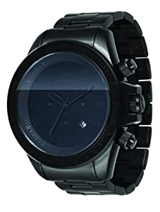 Vestal Men's ZR3018 ZR-3 Brushed Black Chronograph Watch