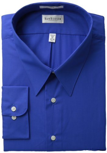 Van Heusen Men S Tall Wrinkle Free Poplin Long Sleeve
