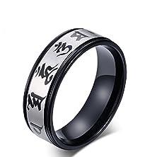 buy Fancy Men'S Bible Verses Titanium Steel Rings Size 6