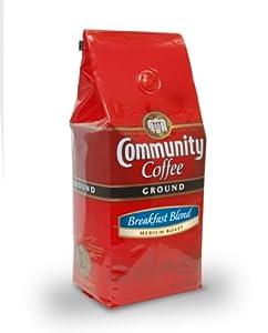 Community  Ground Coffee, Breakfast Blend, Medium Roast, 12-Ounce Bags (Pack of 3)