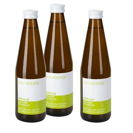 santaverde-aloepur-sparpack-3x330-ml-100-reiner-aloe-vera-saft-990-ml