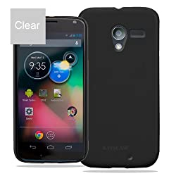 KAYSCASE Slim Hard Shell Cover Case for Google Motorola X Phone Moto X Phone by Google (Clear)
