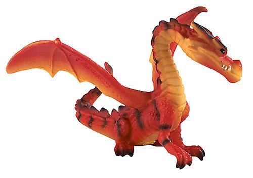 Bullyland Fantasy Dragon 75528 Drache Rot