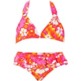 Roxy Morro Bay Frills N Spills Bikini - Girls'