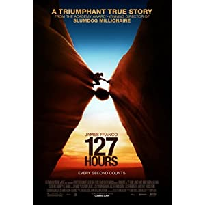 127 Hours Advance Movie Poster Double Sided Original 27x40