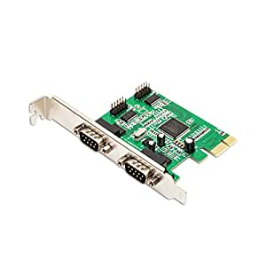 SYBA PCI-Express RS-232 Serial 4-Port Card, Moschip 9845 Chipset SY-PEX-4S