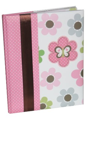 Carter's Just One You Baby's Mod Flower First Record Book/Baby Book, Pink