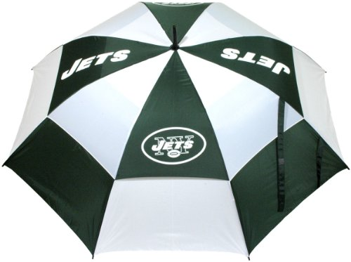 NFL New York Jets 62-Inch Double Canopy Umbrella at Amazon.com