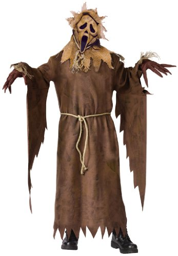 Scream Scarecrow Ghost Face Kids Costume