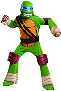 Teenage Mutant Ninja Turtles Deluxe Leonardo Costume, Small